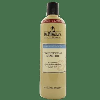 Haarshampoo Flasche von Dr. Miracles