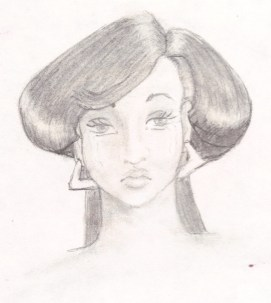 Pencil sketch from 1987