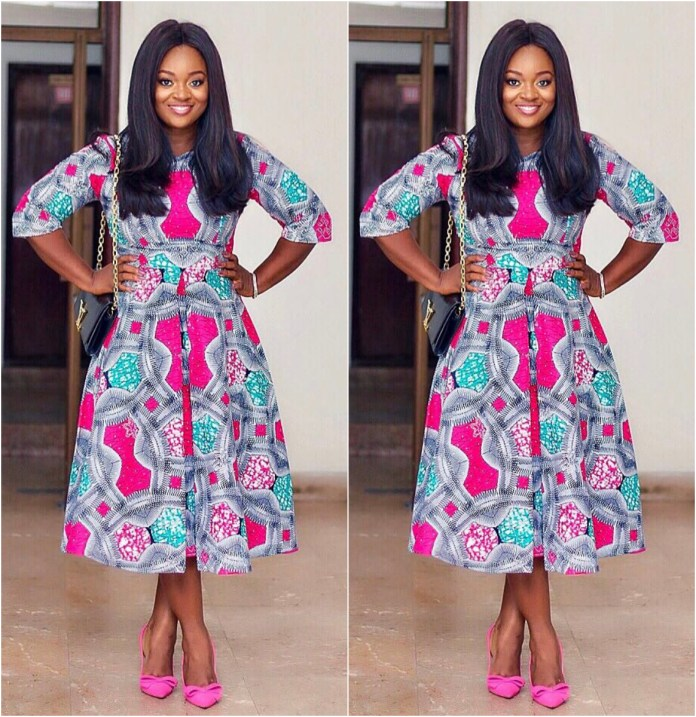 Snazzy African Print Styles From Jackie Appiah Wardrobe