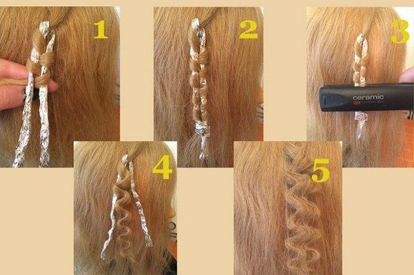 Accelerată înălțarea pe coale de păr folosind redresor