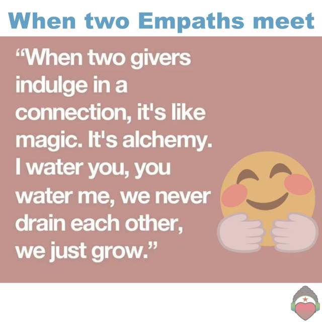 When Two Empaths Meet