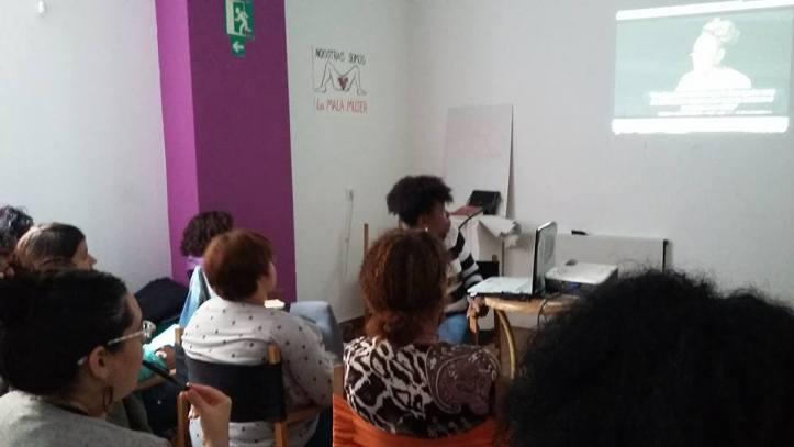 Taller Afroféminas sobre Feminismos Negros en Madrid