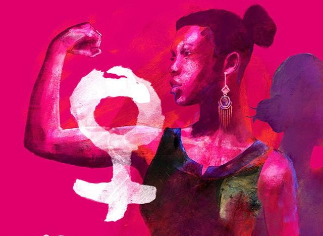 La huelga feminista como mujer negra