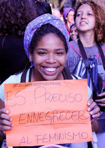 El feminismo también es afro