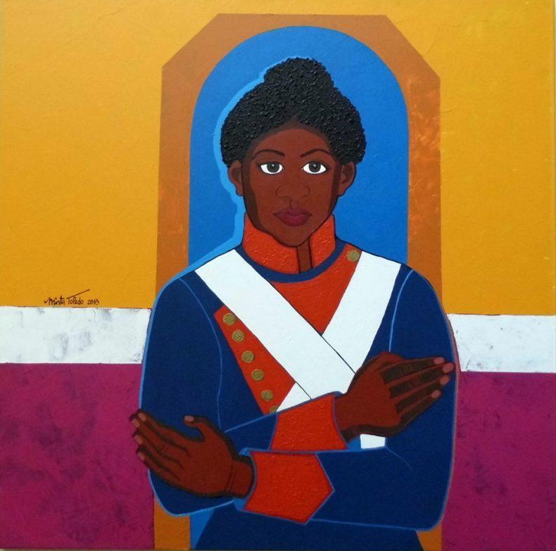 Retrato de María Remedios del Valle