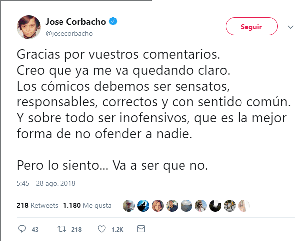corbacho twitter