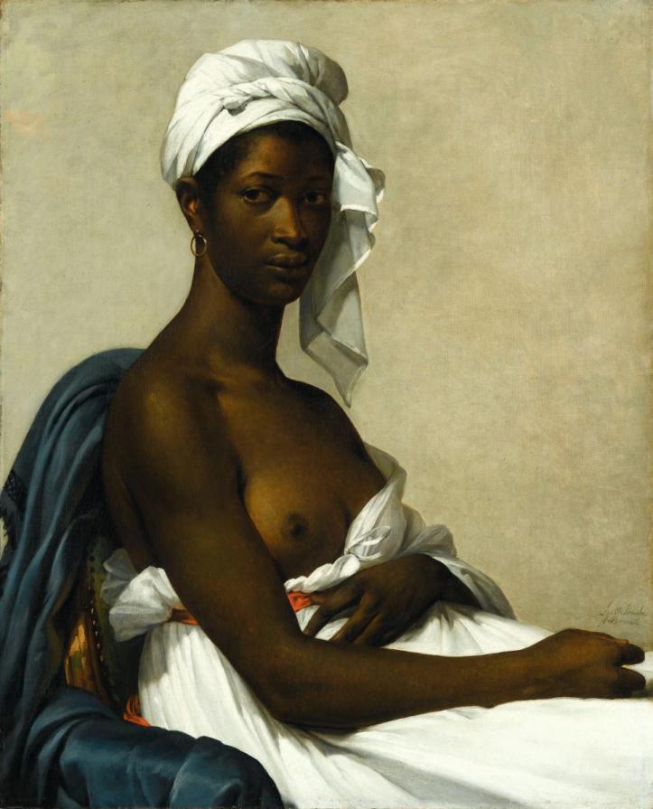 Retrato de una mujer negra