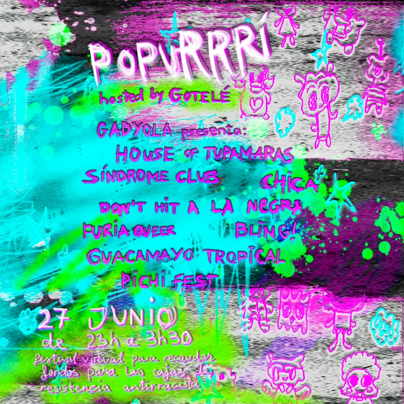Este sábado llega PopuRRRi, una fiesta virtual antirracista