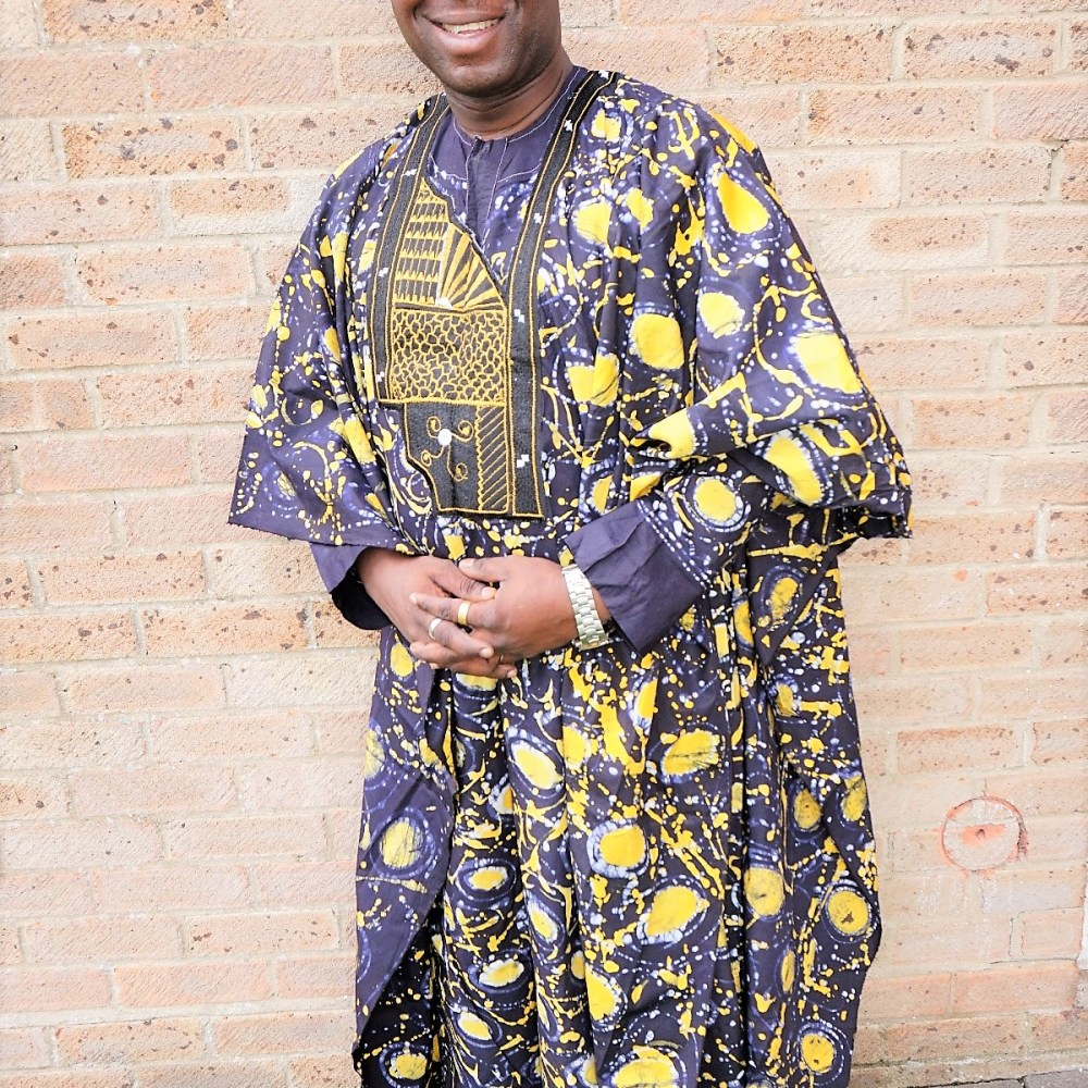 Traditional 3 piece Nigerian style agbada set