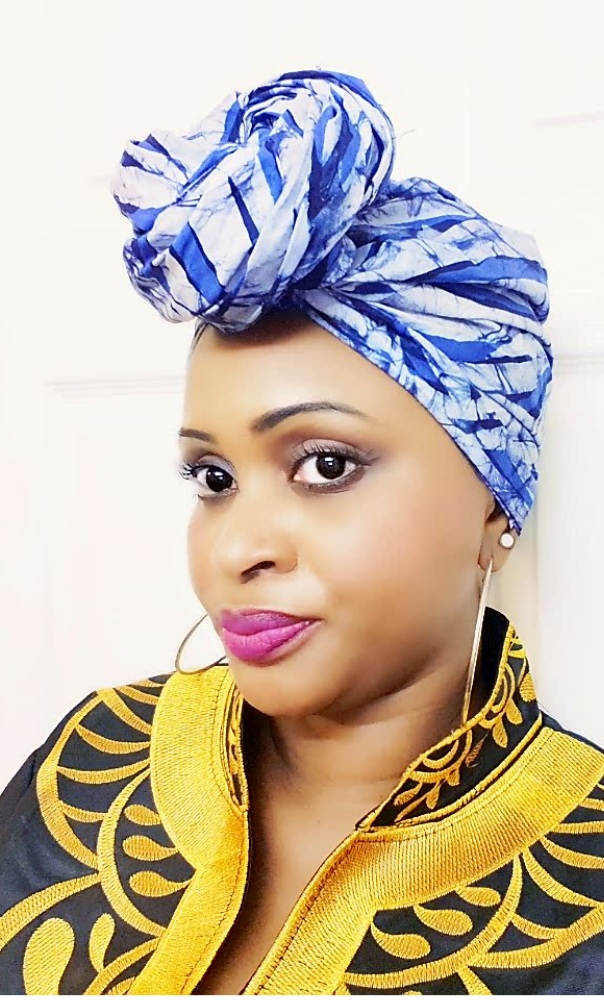 Batik headwrap head tie