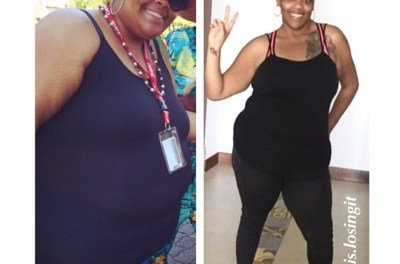 I had back pains and sleep apnea due to my weight and I knew I had to make a change