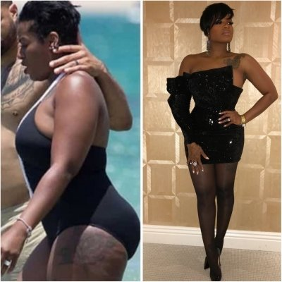 how fantasia lost weight