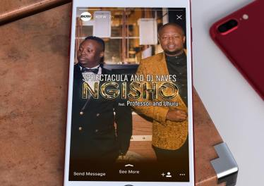 SPHEctacula and DJ Naves - Ngisho (feat. Professor & Uhuru)