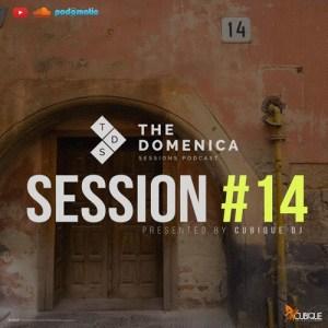 Cubique DJ - Domenica Sessions Podcast #14. Deep house sounds, new deep house music, afro house music, afro deep