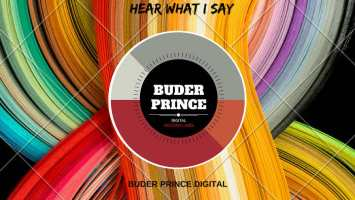 Buder Prince - Hear What I Say (Daniele Baldi Remix)