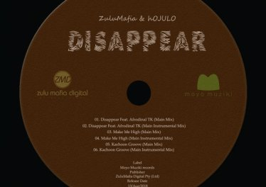 ZuluMafia & Hojulo feat. Afrodinal TK - Disappear (Main Mix). best house music, african house music, soulful house 2018