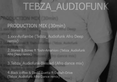 Tebza Audiofunk - Underground Afro 2019 Mix