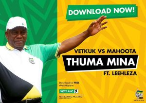 Vetkuk vs Mahoota - Thuma Mina (feat. Leehleza), amapiano, south african anc, new amapiano songs