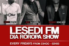 InQfive - Lesedi FM DiaRoropa Mix (25-05-19)