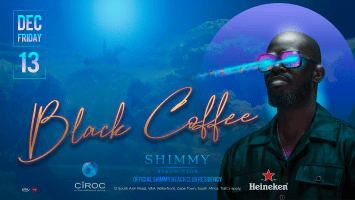 Black Coffee @ Shimmy Beach Club