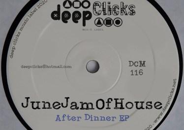 JuneJamOfHouse - After Dinner EP