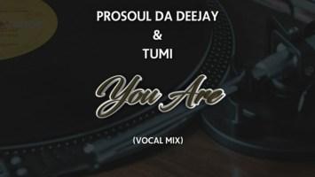 ProSoul Da Deejay & Tumi - You Are