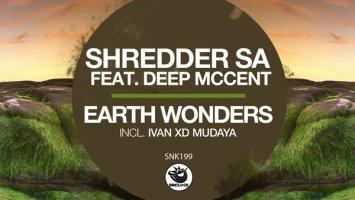 Shredder SA - Earth Wonders EP