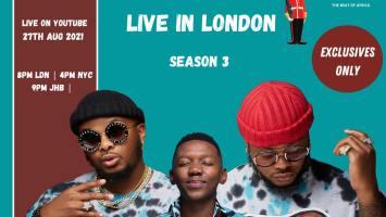 Major League Djz - Amapiano Balcony Mix Africa Live with (Aymos)