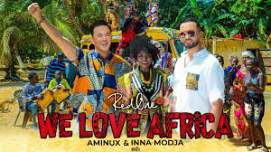 Download RedOne Ft. Aminux & Inna MODJA - WE LOVE AFRICA (Official AFRICAN GAMES MOROCCO 2019 Song) mp3 song download
