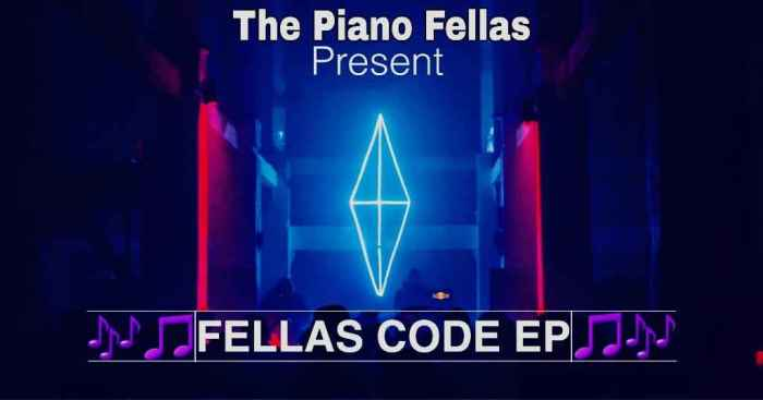 EP The Piano Fellas – Fellas Code