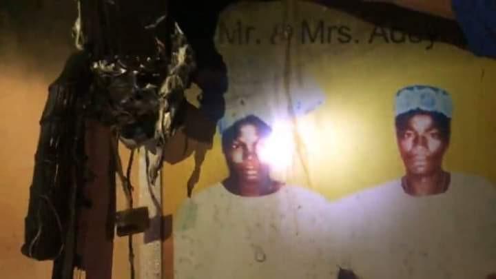 Yoruba activist Sunday Igboho?s house razed in Ibadan (photos)
