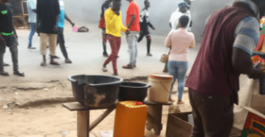 Protest In Osun State By Suspected Yahoo Boys Against EFCC