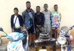 Police Arrest Five Suspected Cultists During Initiation in Ekiti