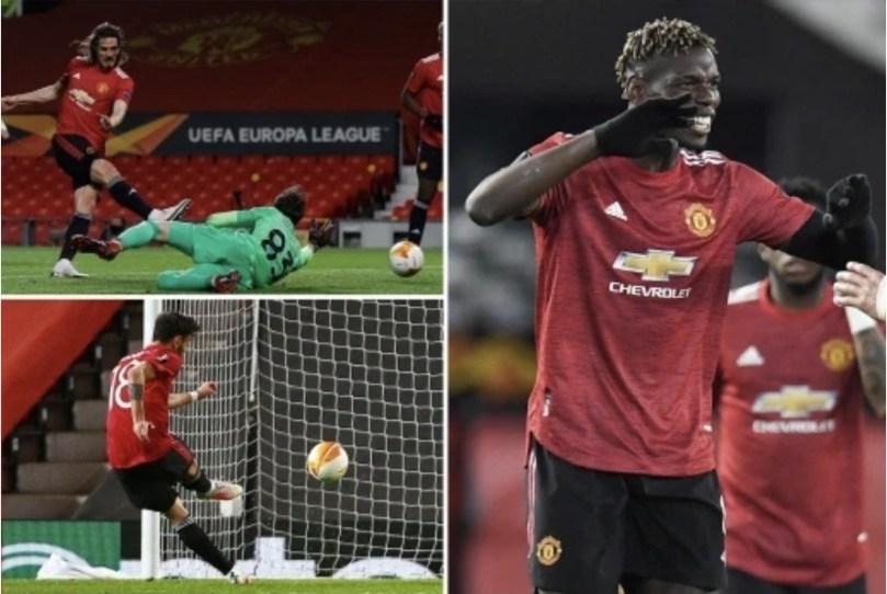 Man Utd. 6- 2 Roma: United Put one foot in Europa League Final