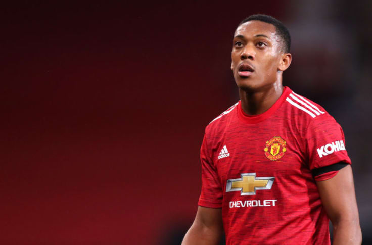 ManUnited Player, Anthony Martial Confirmed out For Rest of Season With a Knee Injury