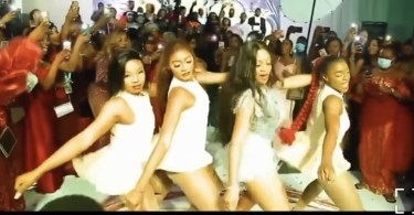 Bride Entertains Her Husband and Guests At Her Wedding After Party With Her Beyonce Moves