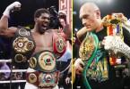 Tyson Fury Vs Anthony Joshua Heavyweight Fight Confirmed for August 14 in Saudi Arabia