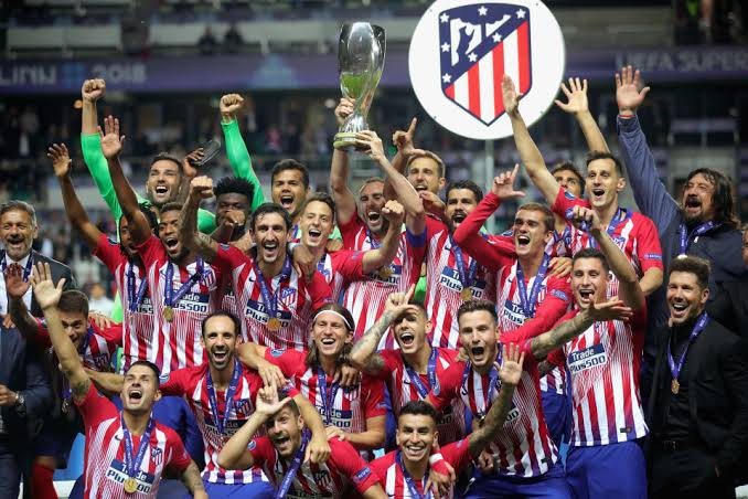 Atletico Madrid Wins 2020/21 LaLiga Santander Title