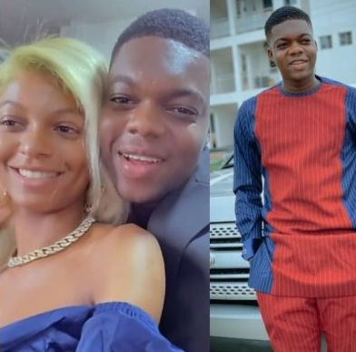 Cute Abiola's Alleged Girlfriend Adeherself Reacts As His Traditional Wedding To Another Lady Surfaced Online