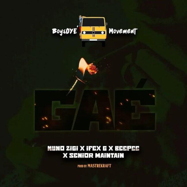 Download MP3: Nuno Zigi ft. BeePee, Ifex G & Senior Maintain – Gae