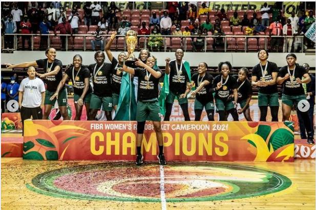 Nigeria's Female Basketball Team D'Tigress win Third consecutive AfroBasket Title