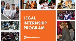 World Bank Legal Internship Program