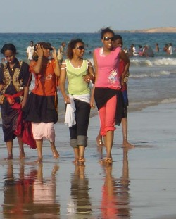 The beach of Berbera