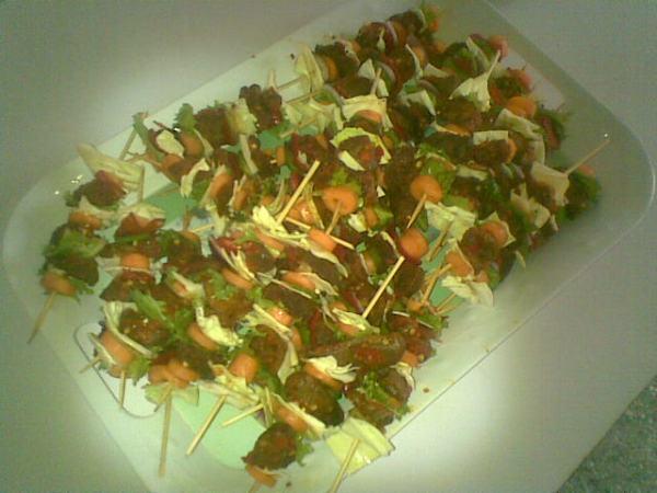 beef kebab chops and more