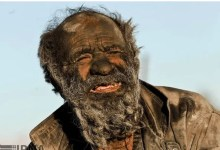 Photo of Meet Iranian man who hasn't bathed for over 60 yrs….Claims cleanliness makes him sick