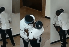 Photo of Restaurant Workers Caught On CCTV Having S_ex At Work