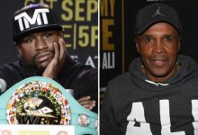 Photo of Floyd Mayweather lashes out after being ranked behind Sugar Ray Leonard in list of best welterweights