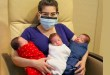 Triplets' mom who had Covid-19 while pregnant delivers healthy babies