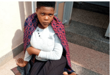 Photo of I6-year old teenage mother dumps her baby in pit latrine