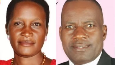 Photo of Ugandan man 'disowns' daughter contesting him in local election